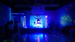 Bryce Hall with Stage
