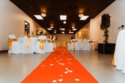 preston hall wedding setup