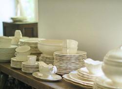 Sarreguemines&Longchamp rim plates