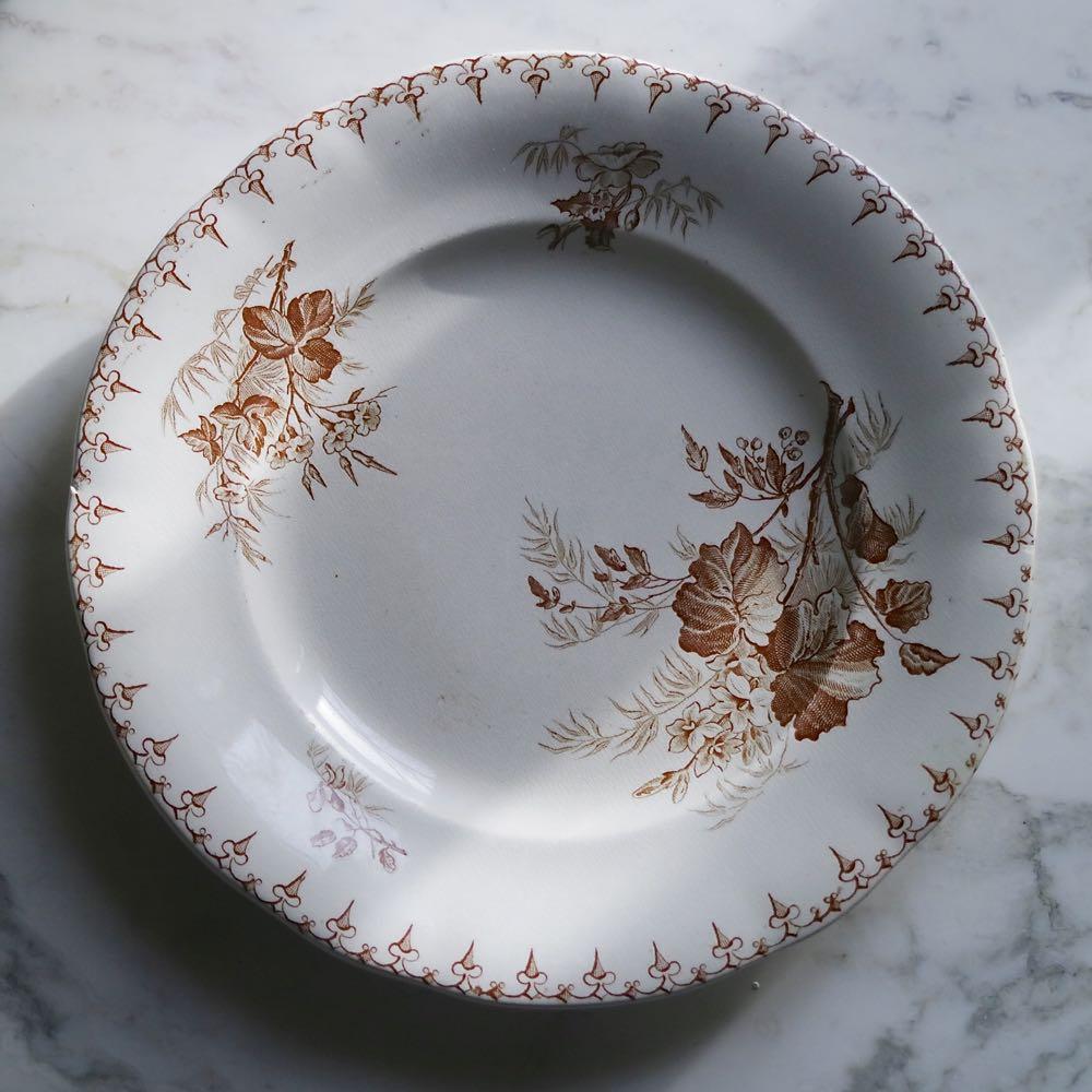 81,Flora U&G 浅皿