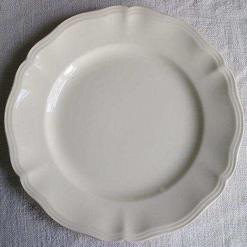 0091 sarreguemines 花リム Ø 22,5cm平皿