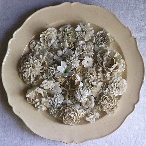 枯れない花  2。_1900年代__Fleurs éternelles