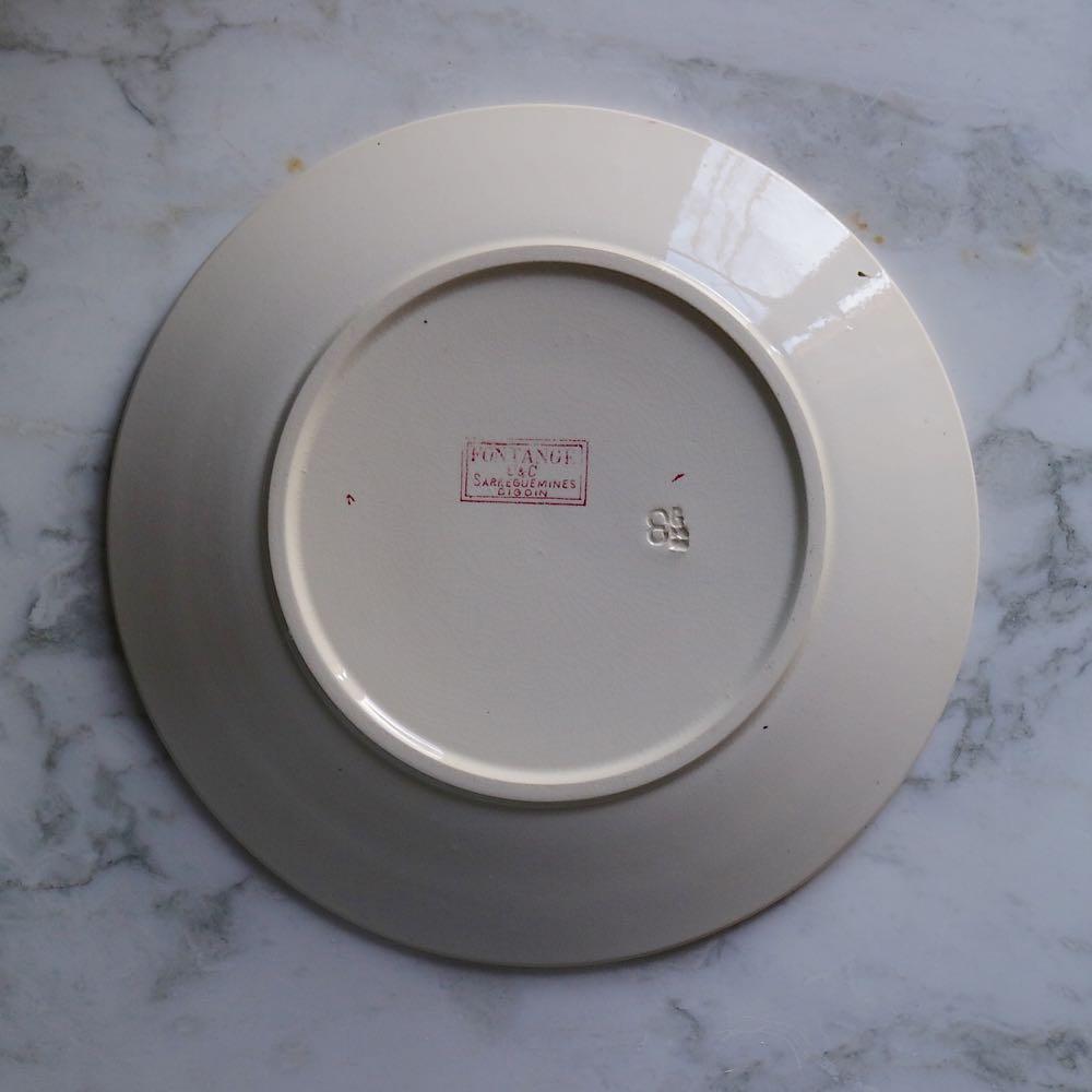 56, Fontages Φ23,5cm 浅皿