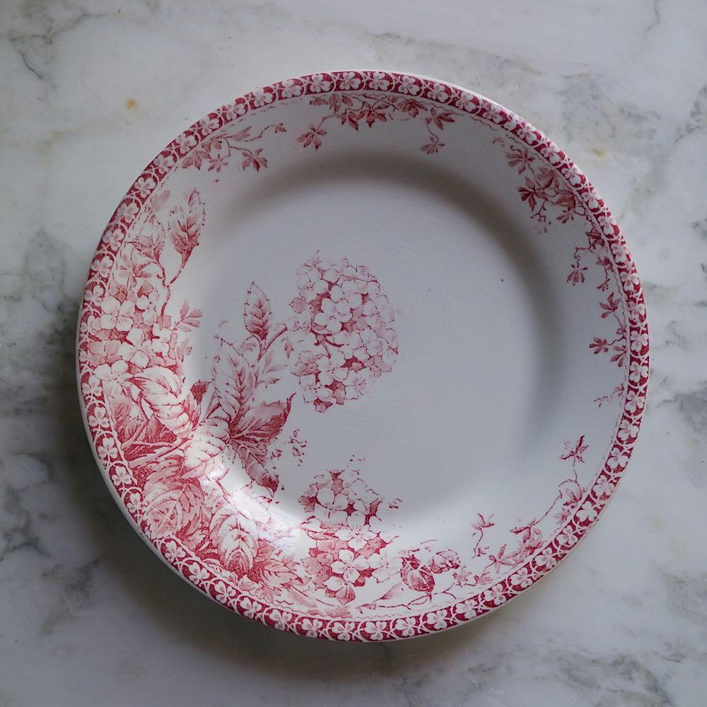 52, Hortensia Φ23cm 浅皿