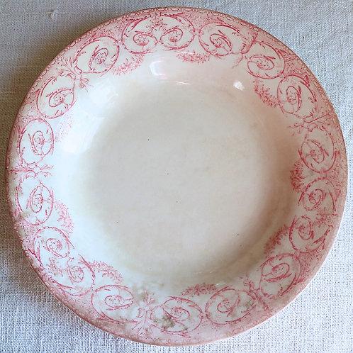 0077 Dubarry  creil&montereau クレイユエモントロー  Ø 23,5cm深皿