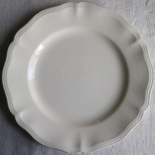0092 sarreguemines 花リム Ø 23cm平皿