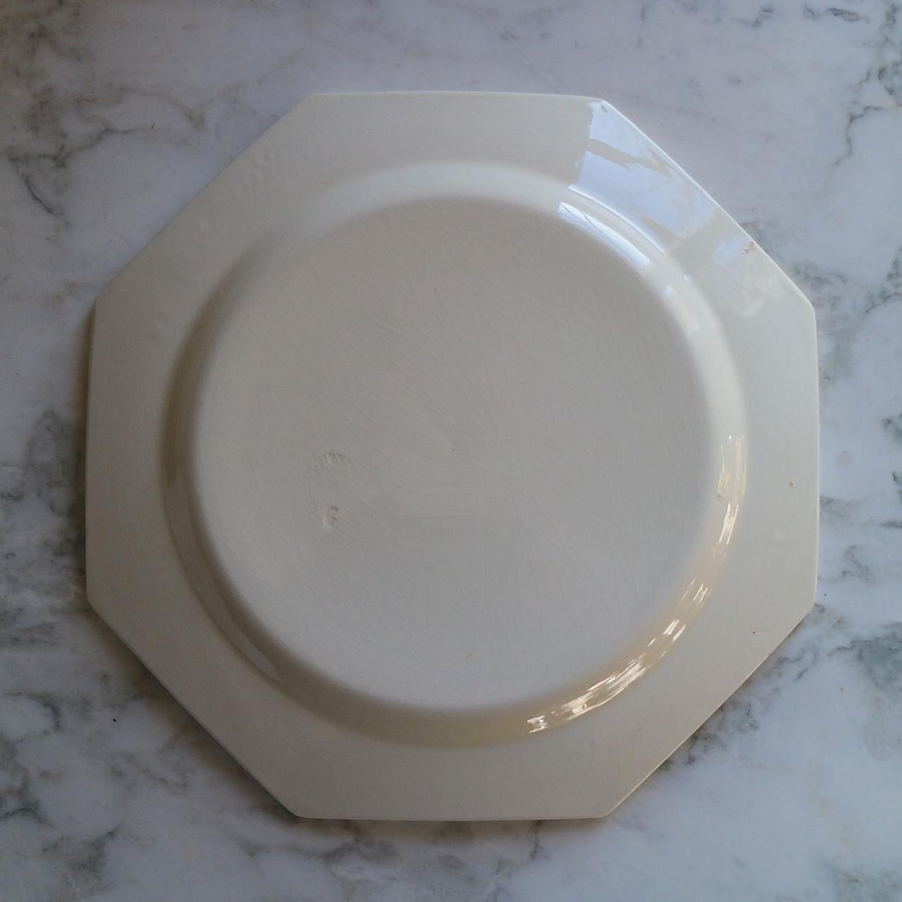 36,creil et Montereau 浅皿 24,5cm