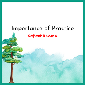 Reflect & Learn through practice
