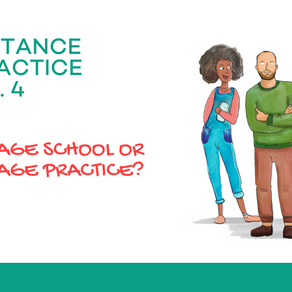 Language School or Language Practice?