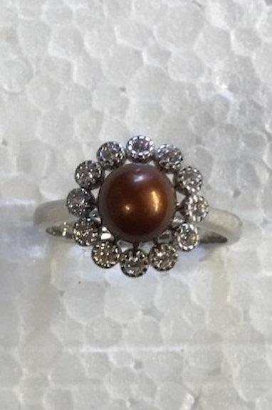 Bling Round Ring