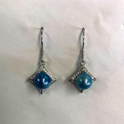 Square Bling Earrings