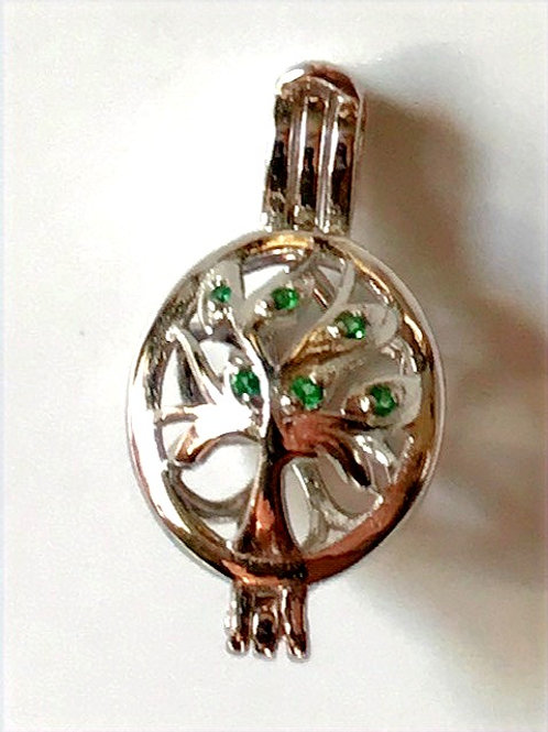 Tree Of Life with Green Stones