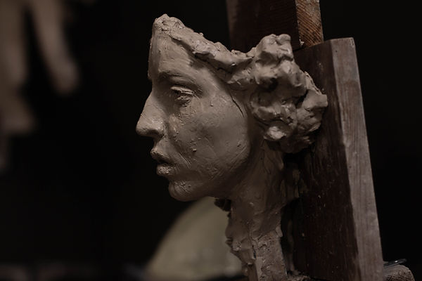 Medusa par Irina Shark, travail en cours.