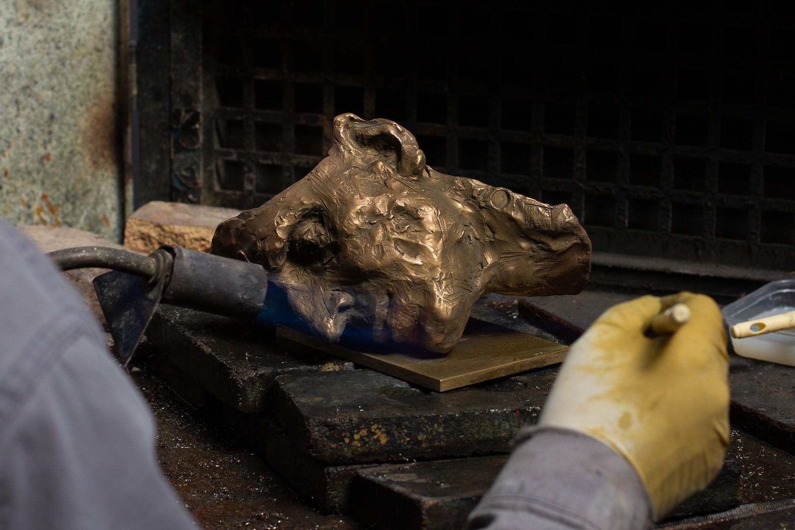 Abandonned mask