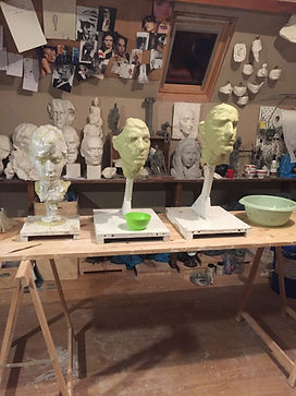 Mouldmaking, silicone mould done by Irina Shark