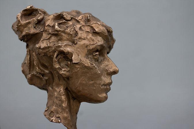 Maya, bronze sculpture by Irina Shark