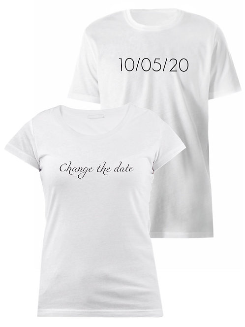 CHANGE THE DATE 2 [WED]