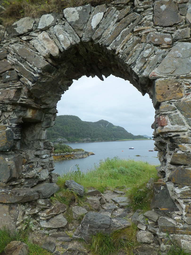 The View from Strome Castle