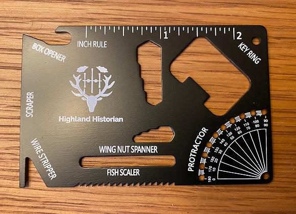 Highland Historian Tool Card