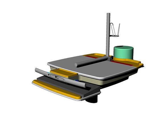 Altus Work Surface 3D Model 6.20.12-1.pn