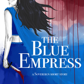 THE BLUE EMPRESS is out TODAY!
