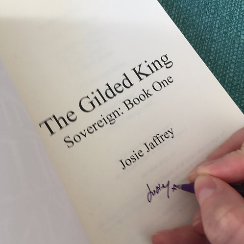The Gilded King (Signed)