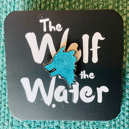 The Wolf and The Water pin