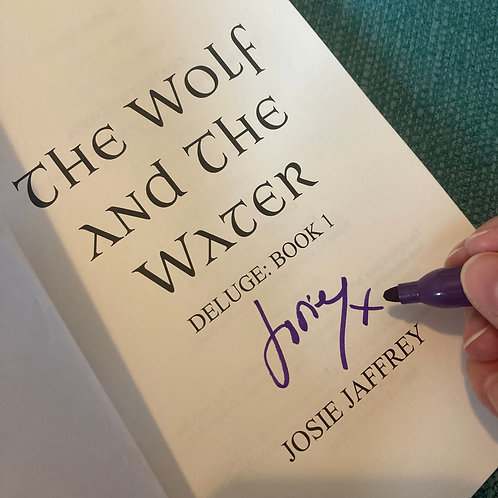 The Wolf and The Water (Signed)
