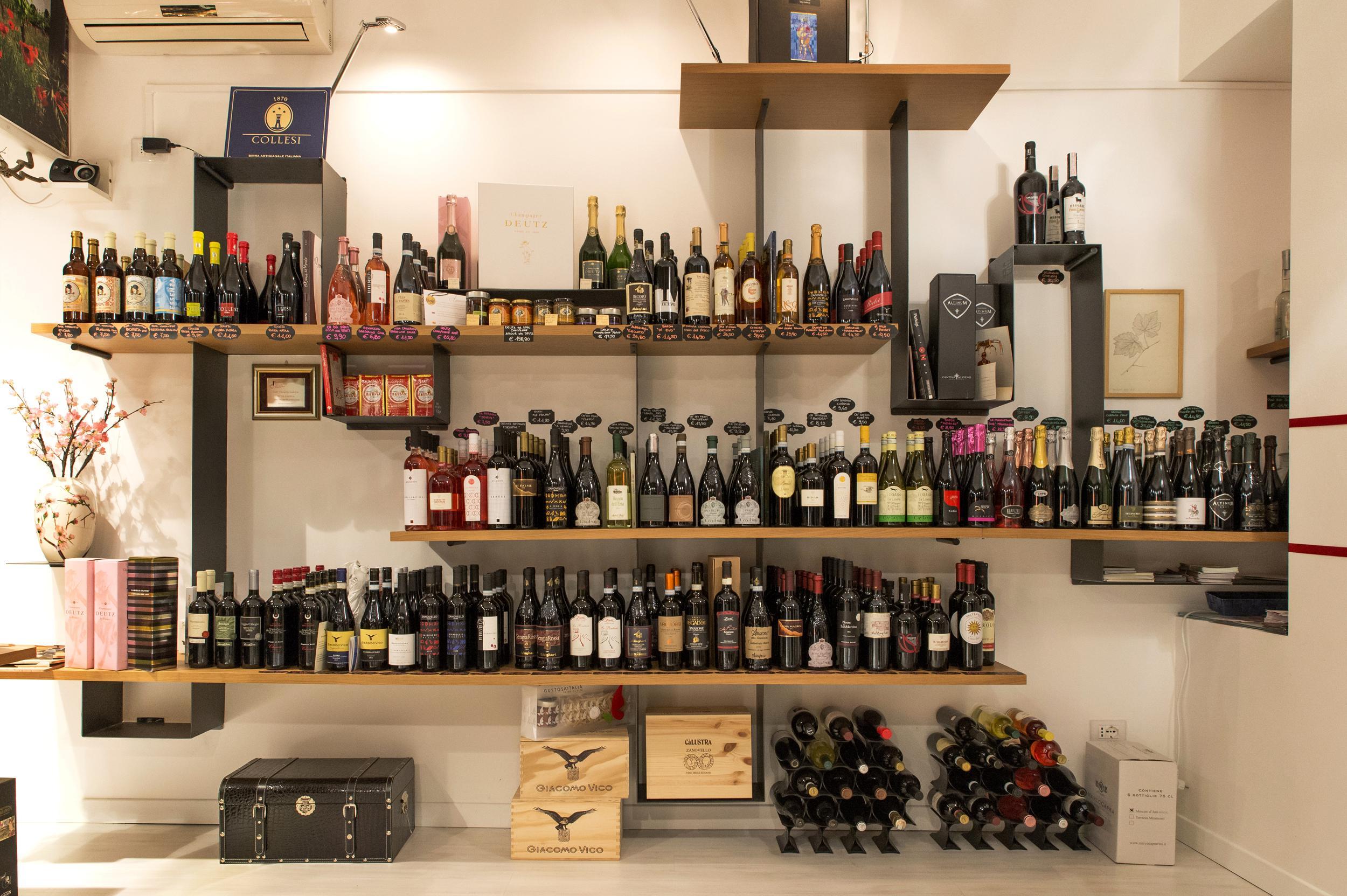 Esposizione bottiglie