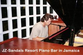 JZ at SandalsResort Piano Bar Live Jamai