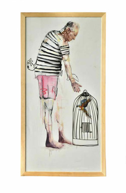 (3)Pájaro-en-mano