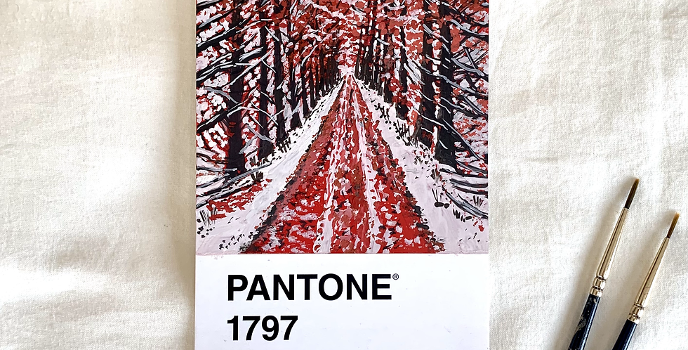 PANTONE Original - Red Valley