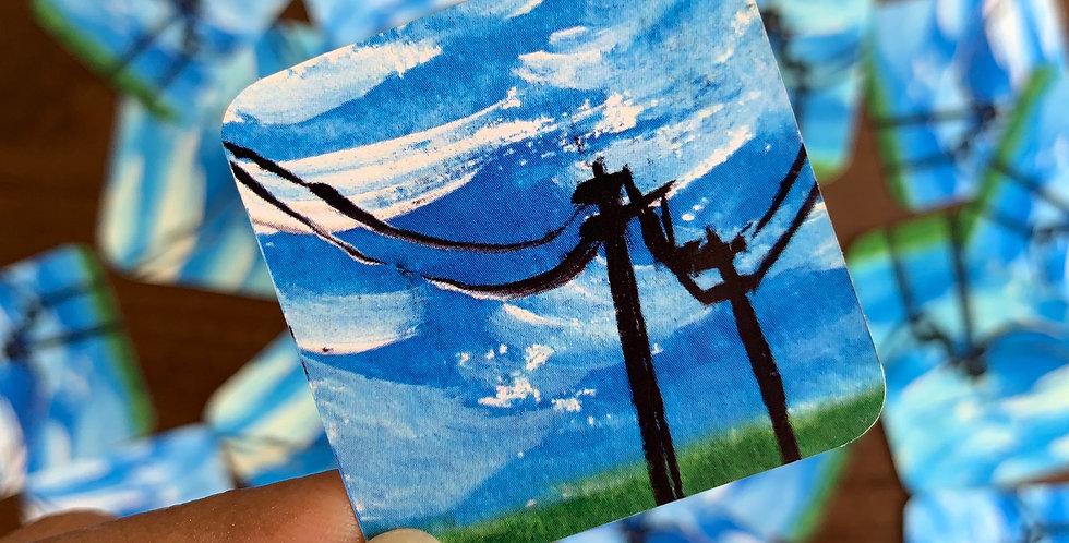 mini sky - power lines