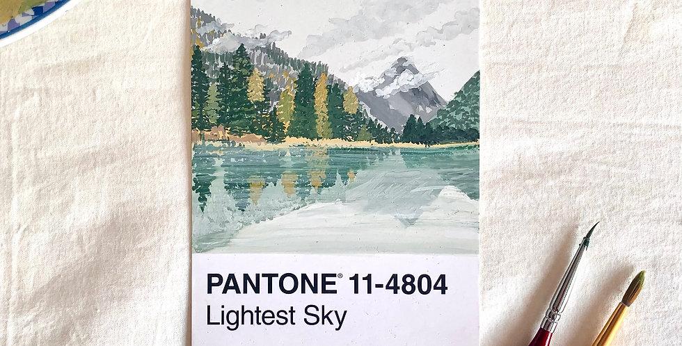 PANTONE Original - Lightest Sky