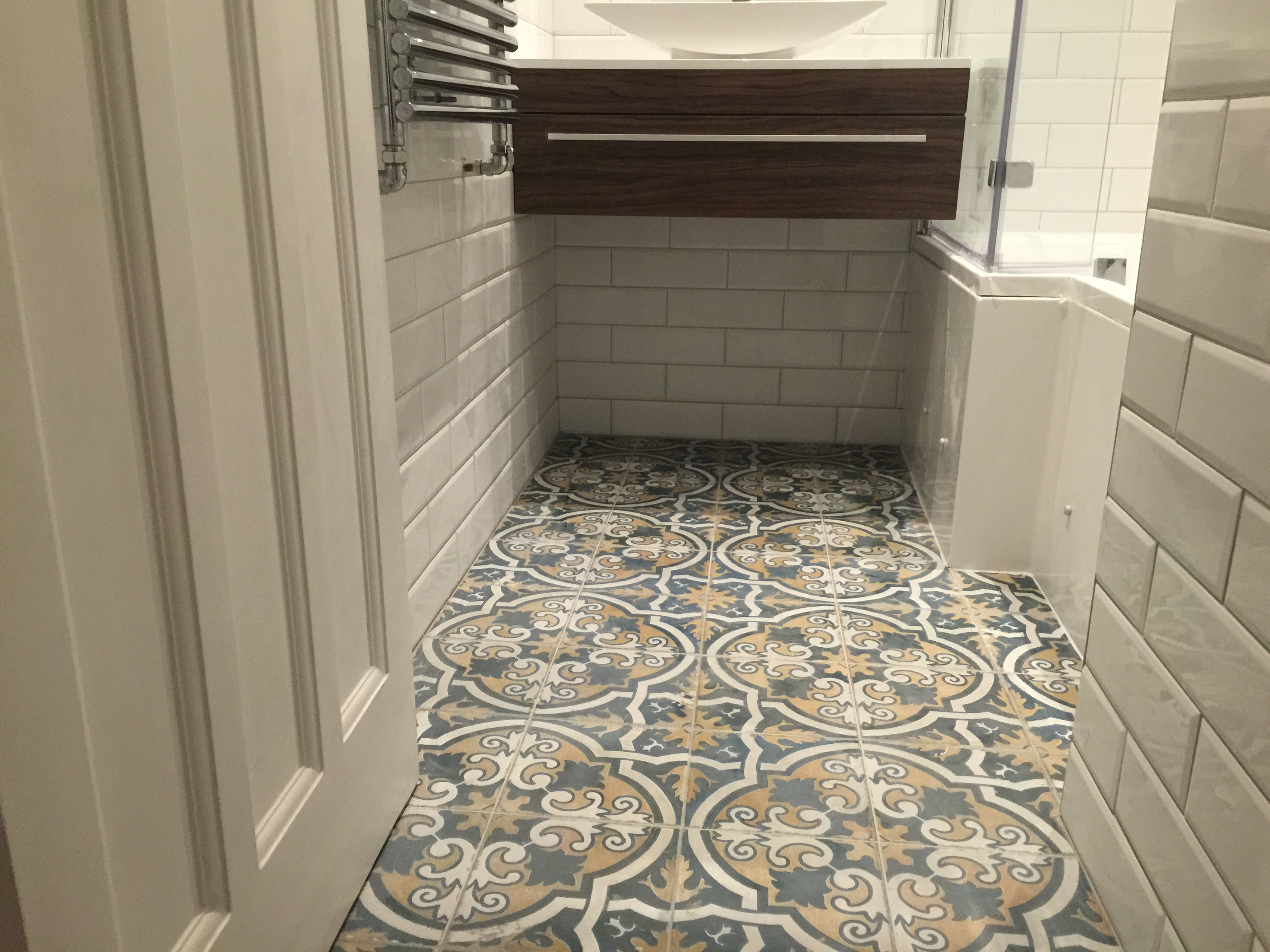 Patterned Tiling