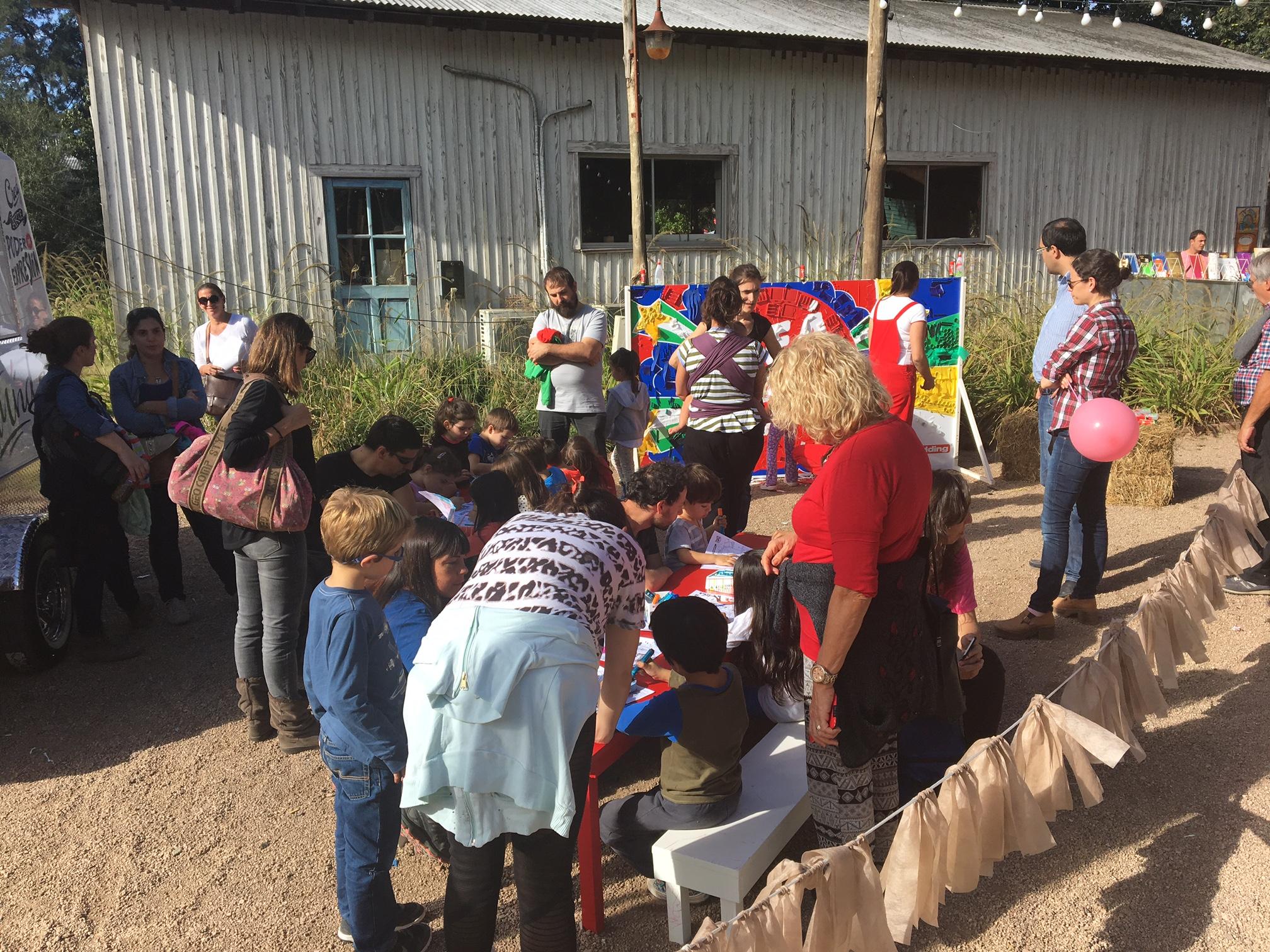 Activación Edding en Planetario Fest