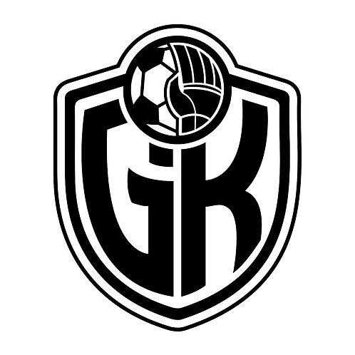 Goalkeeper Life Logo Sticker