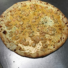 Cajun Shrimp Alfredo Pizza