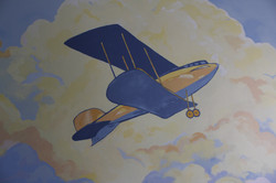 Painted Airplane Art