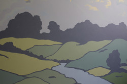 Rolling Hills Wall Mural