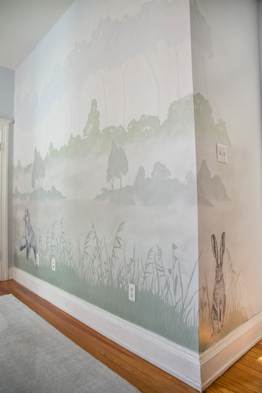 Fox and Hare Children's Mural