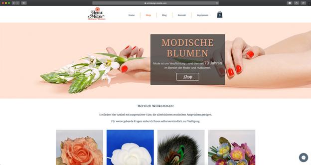 ONLINESHOP - Blumen Müller