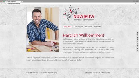 Nowikow | Stuckateur & Meisterbetrieb