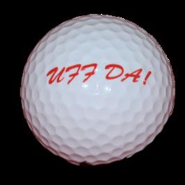 """""""Uff Da!"""" Golf Ball"""