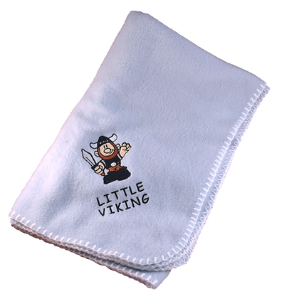 """Baby Blanket - """"Little Viking"""""""