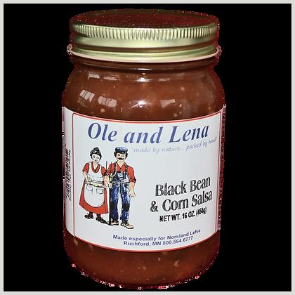 Salsa - Black Bean & Corn (Medium Hot)