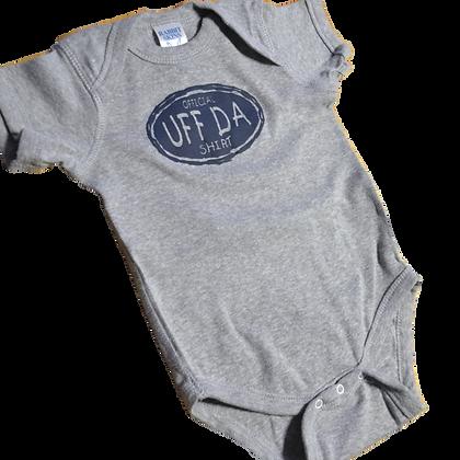 """Onesie - """"Official UFF DA Shirt"""""""
