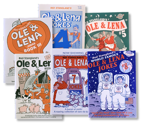 Book - Ole & Lena Jokes