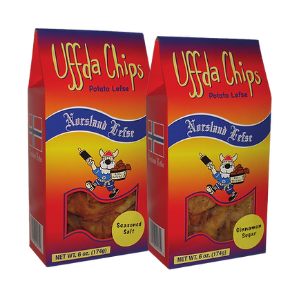 Uffda! Chips - 2-Pack Combo (6oz each)