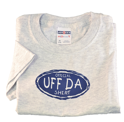 "T-Shirt - ""Official UFF DA Shirt"" (Adult)"